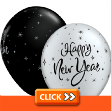 New Year Latex Balloons